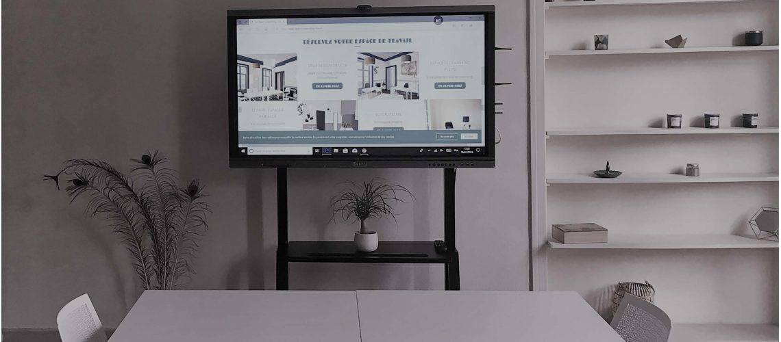 Ecrans interactif LE PAON COWORKING
